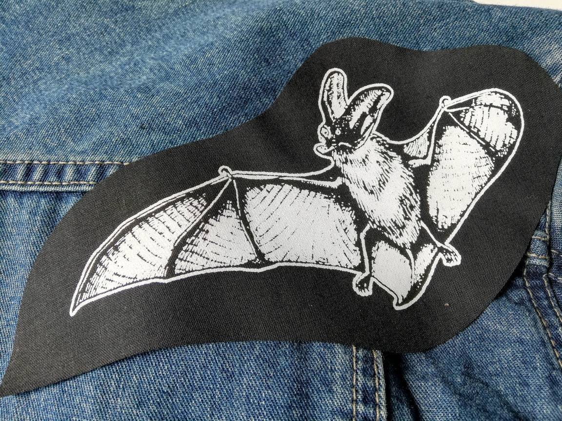 Punk patch Sew on patch Witchy gift Weird animal art Nature patch Satanic Trippy   Deer patch Esoteric OCCULT PATCH