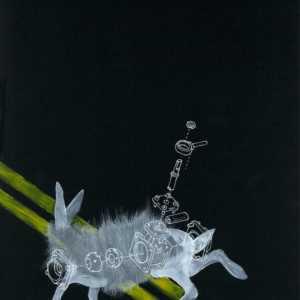 The Late Mr. Rabbit Illustration