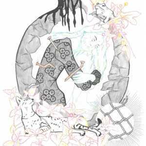 Witch Jar Illustration