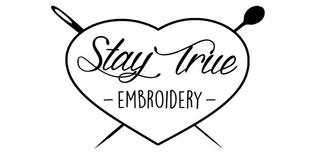 Stay True Embroidery