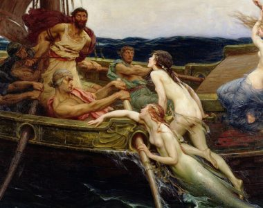 Ulysses and the Sirens by Herbert James Draper, 1909